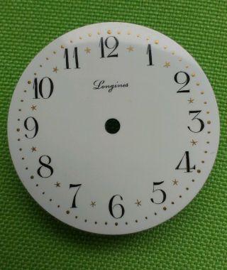 Longines - Taschenuhr Ziffernblatt 30mm Durchmesser Bild