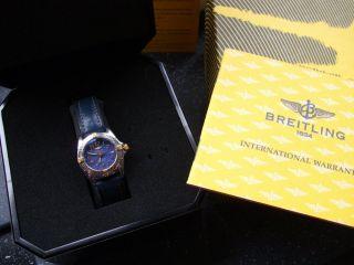 Breitling Callistino Damen Stahl /gold Bild