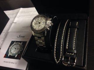 Sinn Modell 303 Silber 12.  Der Autofahrerchronograph (, Für Sammler) Bild