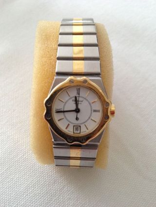 Chopard St.  Moritz Damen Uhr In Edelstahl Gelbgold Bild