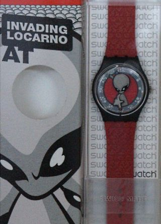 Swatch Special Locarno Film Festival 2005 (phoning Home) Gb225pack Gb225 - 1 Bild