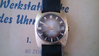 Alfex Uhr 60/70er Jahre - Swiss Made Bild