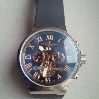 Ulysse Nardin Marine Blue Seal Chronograph Bild
