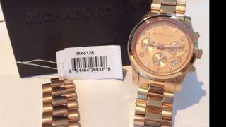 Michael Kors Mk5128 Chronograph Rosegold Bild