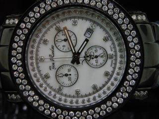 Herren Armbanduhr Joe Rodeo Klassisch 2 Reihen Diamant 4.  75kt Jojo Bild
