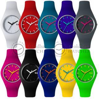 Ice Schlank - Uhr Unisex 10 Leuchtende Farben Zur Auswahl Uvp £ 70 Bild