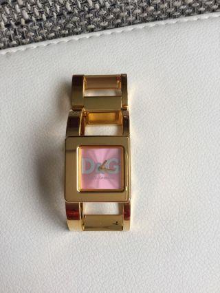 Dolce & Gabbana D&g Uhr Damenuhr Rosa/ Gold Bild
