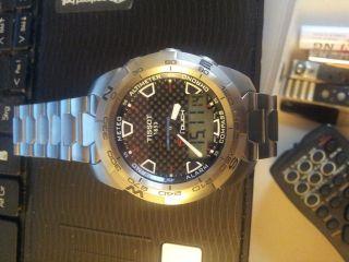 Tissot T Touch Titan Chronograph Quarz 43 Mm Bild