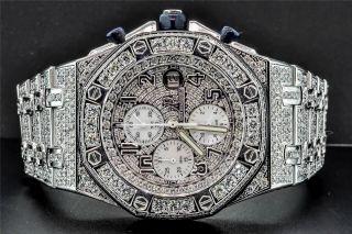Armbanduhr Audemars Piguet Royal Oak Offshore Maßgefertigt Ap 16 Kt Bild
