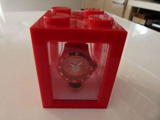 Homeboy Silikonarmbanduhr Armbanduhr Silikon Uhr Rot Bild