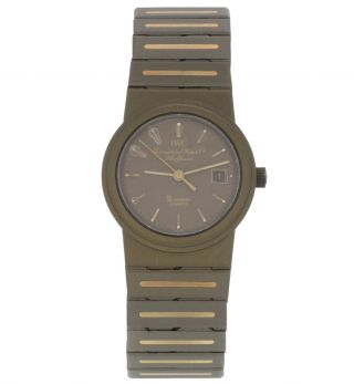 Iwc Sl Uhr Ref.  4507 In Titan - Gold 14k,  Sehr Schön Bild