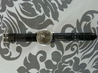 Wempe Armbanduhr,  Herren,  Echtes Lederarmband,  Quarz Uhr,  40mm Bild
