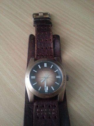 Fossil Jr Fuel Armbanduhr Für Herren (jr9040) | Defekt | Bild