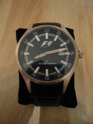 Jacques Lemans F1 Herrenuhr F - 5035 Bild