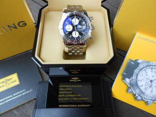 Breitling Evolution A13356 Chronomat Aus Oktober 2014 Vom Deutschen Konzessionär Bild