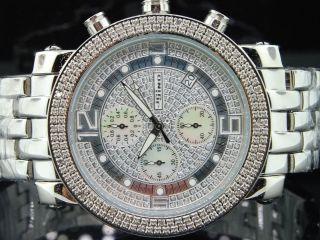Herren Armbanduhr Jojino Jojo Joe Rodeo Uhr Metall Armband 0,  25 Kt 46 Mm Mj1054 Bild