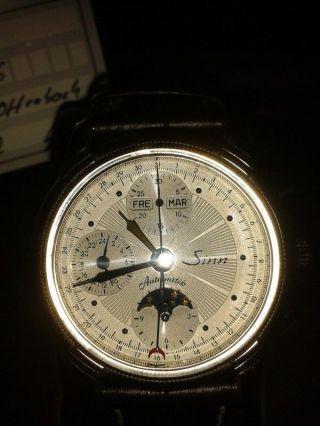 Sinn,  Chronograph,  Mit Kalender Und Mondphase,  6015 St Bild