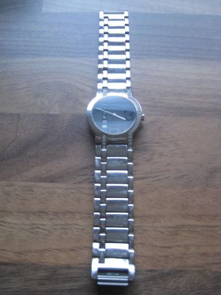 Uhr Esprit Glamour Svarowski - Steinchen Silber Chic Bild