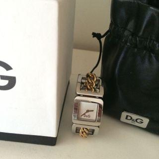Dolce & Gabbana D&g Damenuhr Silber Und Gold Bild