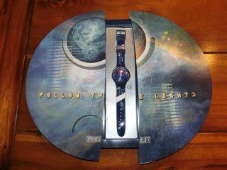 Swatch Scuba Sun & Moon (sdz105) - Clubuhr 1999 - Neuwertig Und Ovp Bild