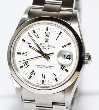 Rolex Date Ref.  15200 Ca.  1995 Stahl Uhr 35mm Bild