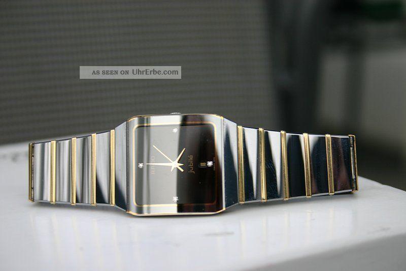 Rado Anatom Jubile Bicolor Quarz Mit Diamanten Armbanduhren Bild