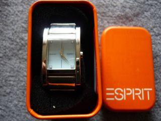Sehr Schöne Hübsche Uhr Der Marke Esprit Bild