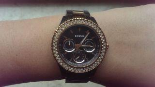 Fossil Uhr Braun/rose ' /rosegold Bild