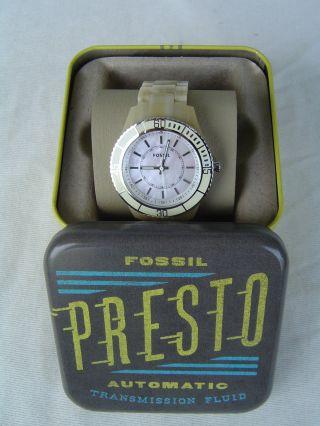 Fossil Damen - Armbanduhr Automatic Presto Transmission Fluid Bild