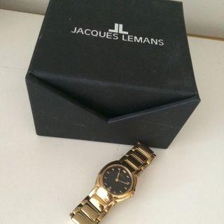 Klassische Jacques Lemans Damenuhr Farbe: Gold Bild