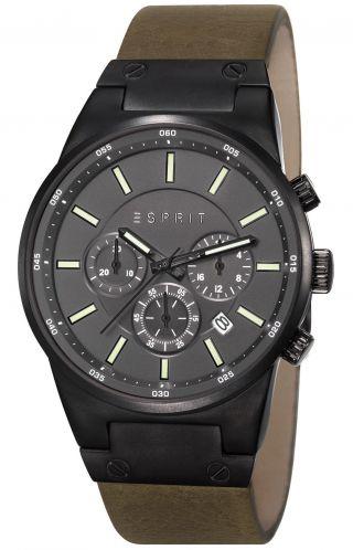 Esprit Uhr Equalizer Outdoor Herren - Chronograph Chrono Es107961003 Bild