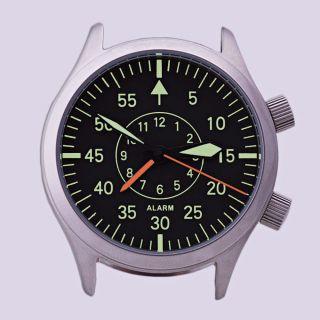 Poljot 2612.  1 Mechanische Wecker Flugkapitän Fliegeruhr Russian Aviator Watch Bild