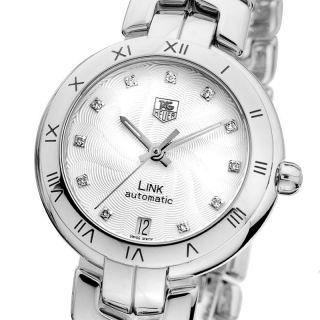 Tag Heuer Link Diamonds Automatik Damenuhr Diamanten Wat2311.  Ba0956 Ladies Watch Bild