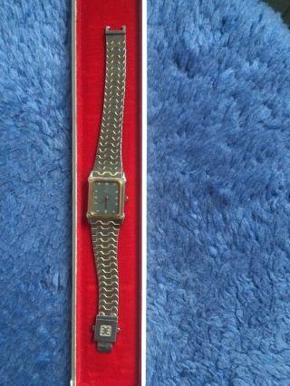 Echte Luxus Armbanduhr Von Ebel Gold Swiss Nr.  2252 - 166914 Bild