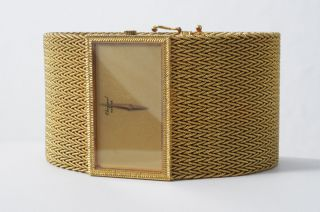 Rar - Edle Vintage Chopard 18 Ct Gold Damenuhr Bild