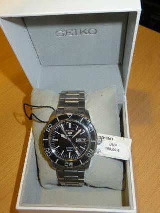 Seiko Five Snzh55k1 Armbanduhr Für Herren Bild