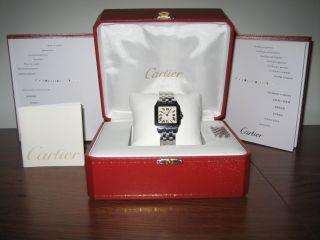 Cartier Uhr Für Damen Santos Demoiselle Mit Papieren,  Ref.  2506525 Bild