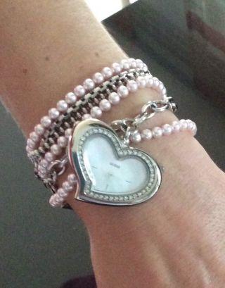 Guess Damen Damenuhr Armband Uvp 179€ Top Bild