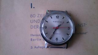 Armbanduhr Kienzle In Bahnhofsuhr - Optik Bild