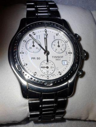 Tissot Chronograph Pr 50 Bild