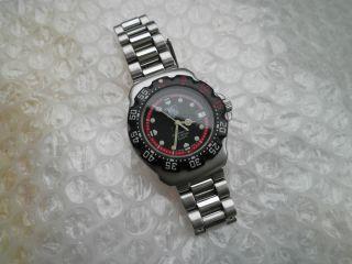 Tag Heuer.  Swiss Made Herren Armbanduhr - Professional 200.  Orig.  Armband Bild