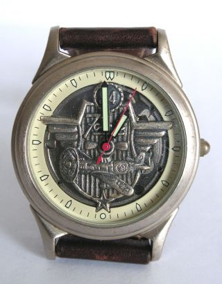 1996 Fossil Collectors Club Limited Edition Armbanduhr Bild