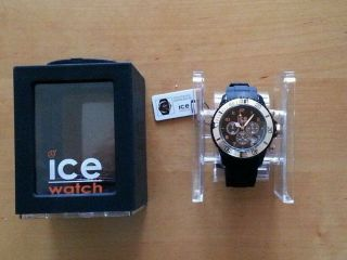 Ice Watch Schwarz Gold Rose Ovp Bild