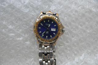 Fossil Blue Am 3232 Ref: 349909 - Herren Armbanduhr.  100m Tag/datum.  Top Hau Bild
