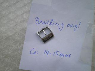 Breitling.  Dornschließe - Stainless Steel.  Ca 14 - 15 Mm Edelstahl. Bild