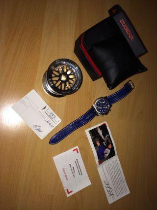 Dugena Uhr Hhf Chronograph Monza Formel 1 Quartz Heinz Harald Frentzen Bild