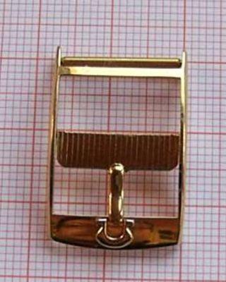 Omega Dornschließe 16mm - 18 Mm Aus Den 60 - 70er Jahren Bild