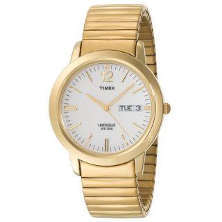 Armbanduhr Timex Erhöhte Herren T21942 Classics Goldfarben Expansion Bild