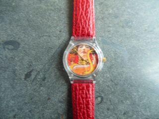 Armbanduhr Laks - Watch Schweizer Qualitäts - Quarzwerk Sammleruhr Gustav Klimt 1110 Bild