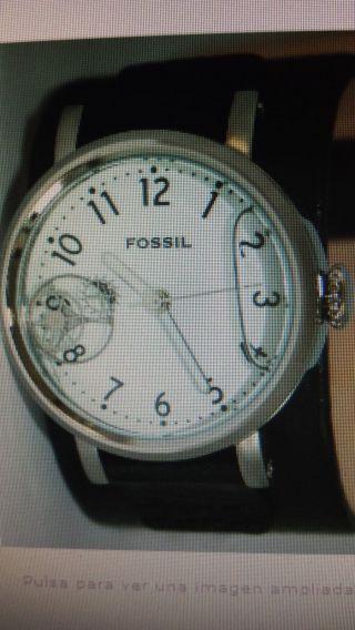 Fossil Herrenuhr Jr9995 Wasserinlay Schwarz Weiß Bild